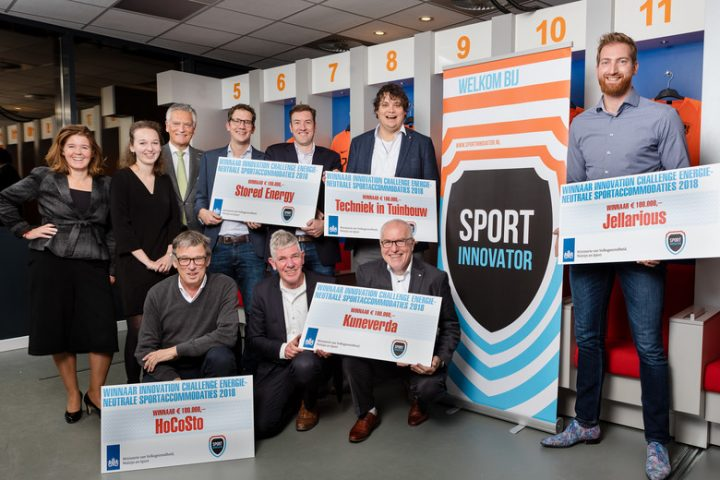Winnaar Innovation Challenge Energieneutrale Sportaccomodaties