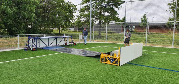 Sportveld wordt Zonnepark